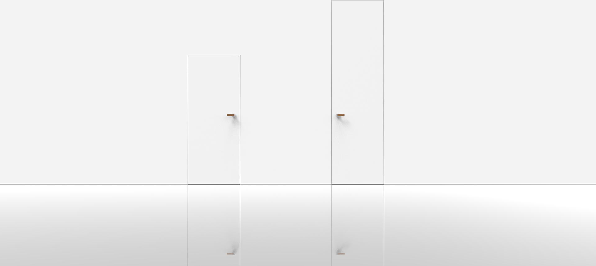 designove moderne dvere bez zarubne
