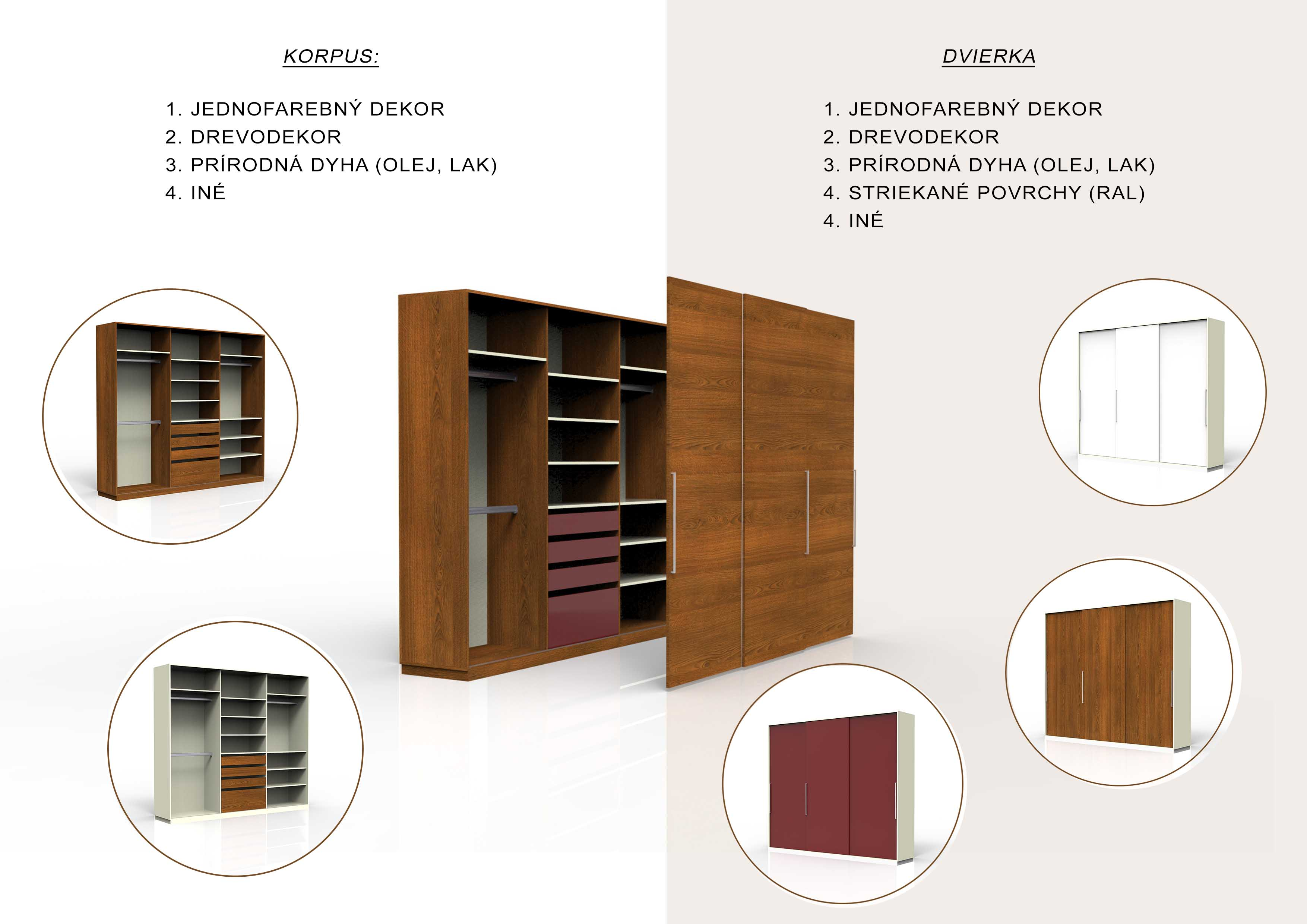 vyroba nabytku na mieru trencin materialove moznosti like design